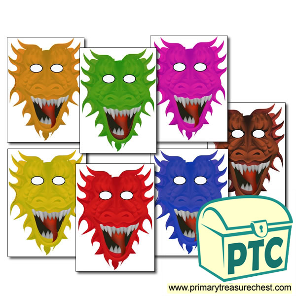 Dragon Role Play Masks