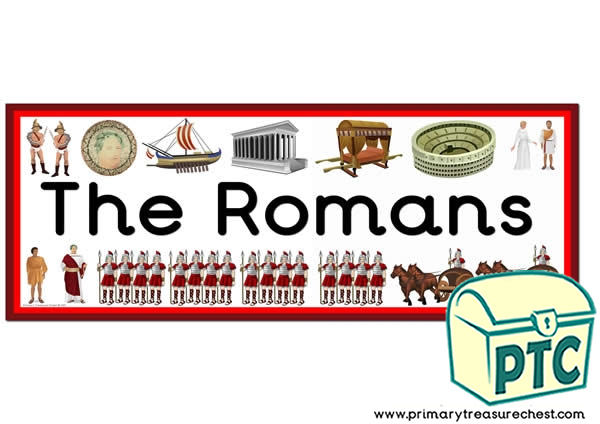 'The Romans'  Display Heading/Classroom Banner