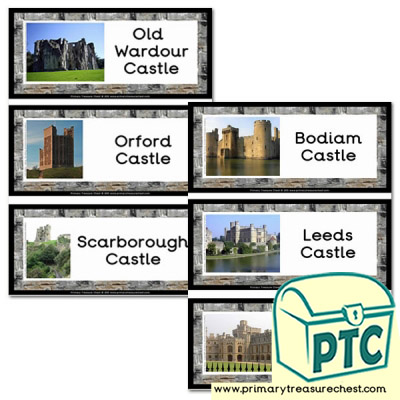 Castles in England Flashcards