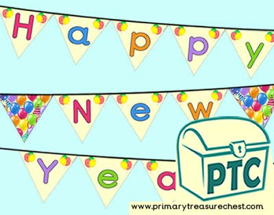 'Happy New Year' Bunting