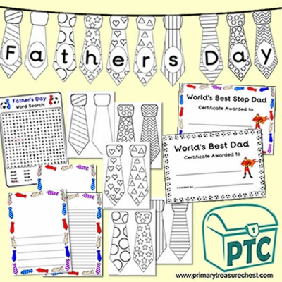 FREE Father's Day Resource Pack