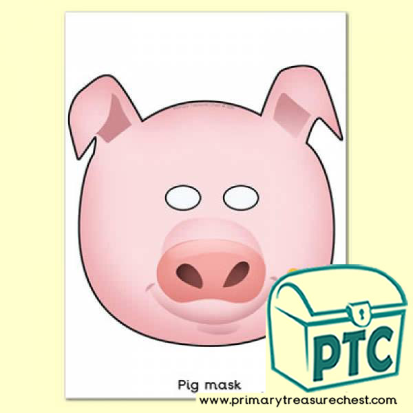 Pig Role Play Mask