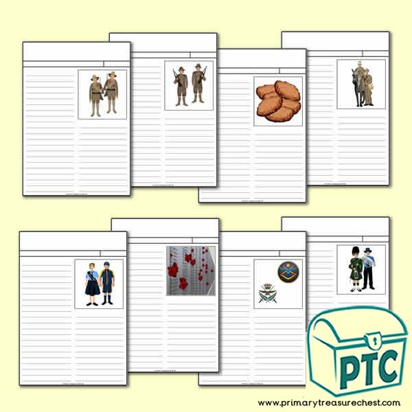 Anzac Day Newspaper Worksheets Primary Treasure Chest