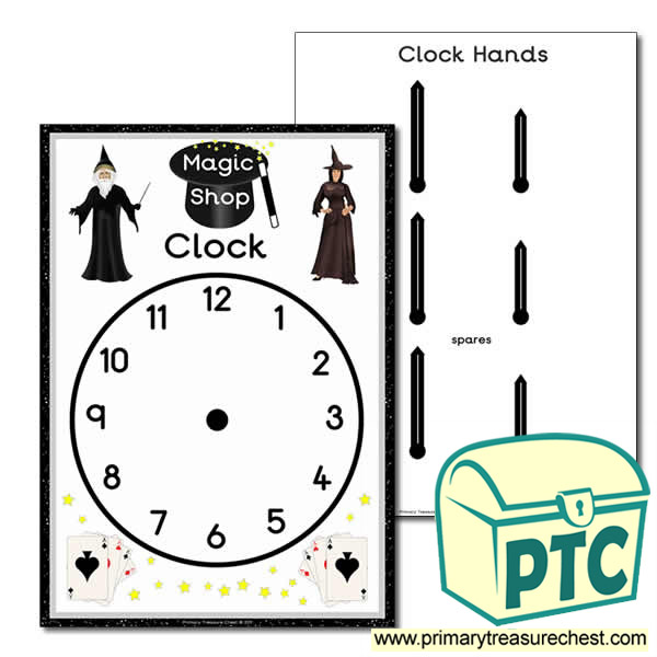 Role Play Magic Shop Clock