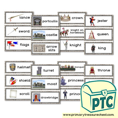 Medieval Castle Role Play Flashcards