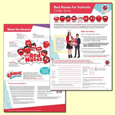 Red Noses for Schools Order Form
