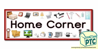 'Home Corner' Display Heading/ Classroom Banner