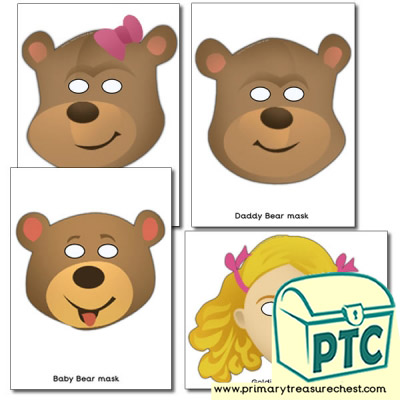 This is a graphic of Printable Bear Mask throughout face mask
