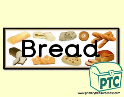 'Bread' Display Heading/ Classroom Banner