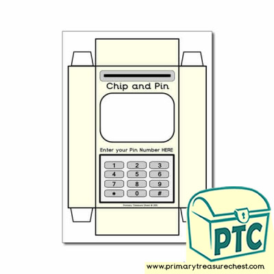 Role Play Chip and Pin Machine