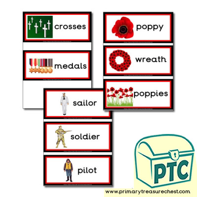 Remembrance Day Flashcards
