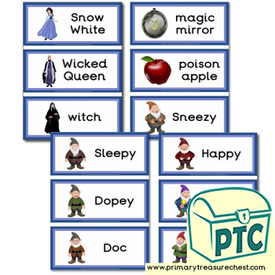 Flashcards- Snow White and The Seven Dwarfs