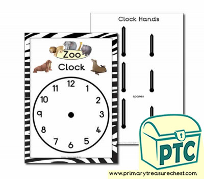 Zoo Role Play Clock