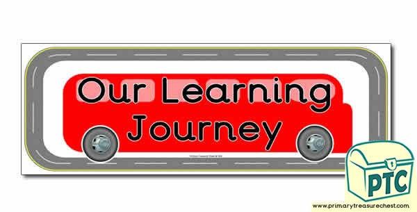 Our Life Journey Classroom Banner
