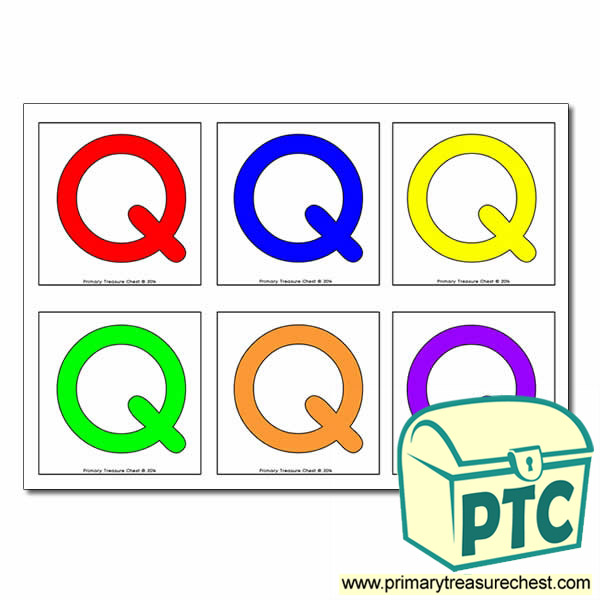 Letter 'Q' Hunt / Matching Cards