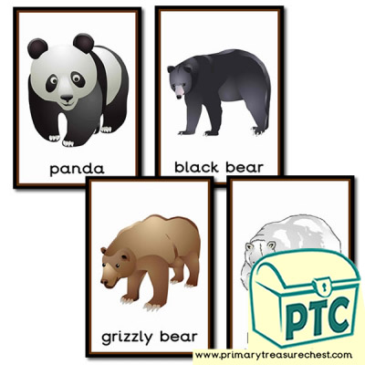 Bear themed Posters