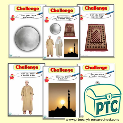 Ramadan Themed ICT Challenge Cards