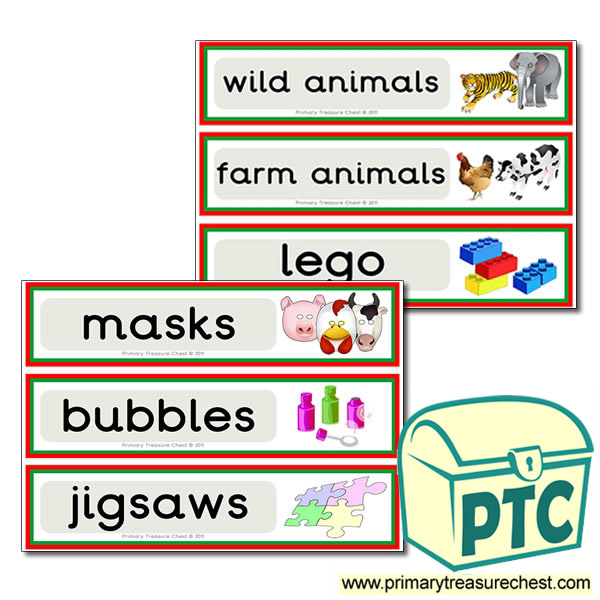Toy Drawer Labels (large)