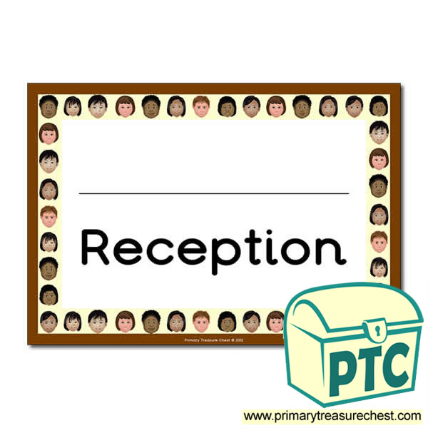 Reception Classroom Door Sign