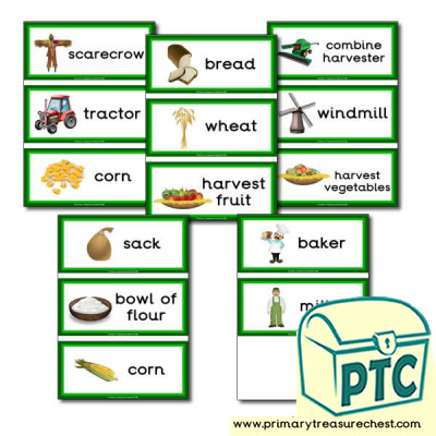Harvest Festival Flashcards