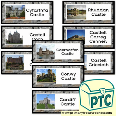 Castles in Wales Flashcards