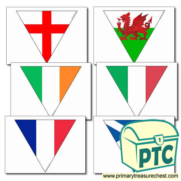 Six Nations Flags Bunting