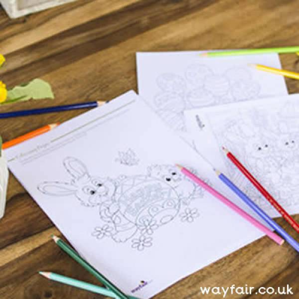 Easter Colouring Sheets