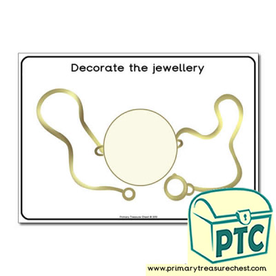 Anglo-Saxon Themed Decoration Worksheet