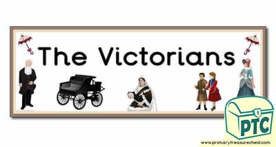 The Victorians Themed Display Heading