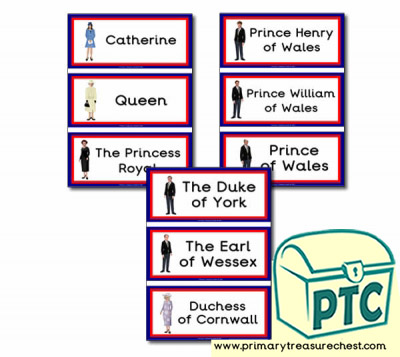 Royal Family Flashcards