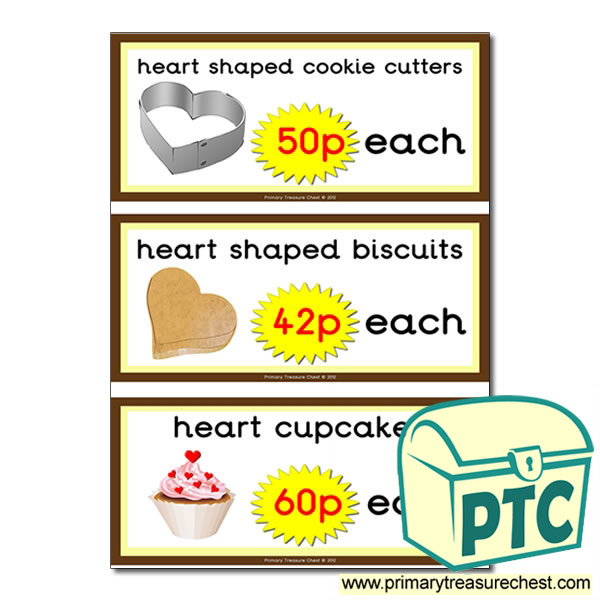 St. Valentine's Day Cake/Biscuit Prices