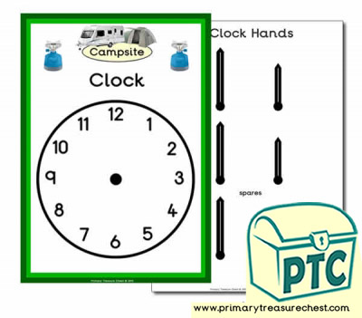 Role Play Campsite Clock