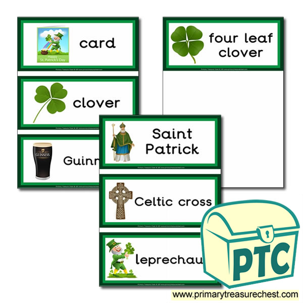 Irish Themed Flashcards