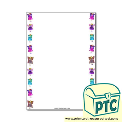 Fairy Themed Page Border/Writing Frame (no lines)
