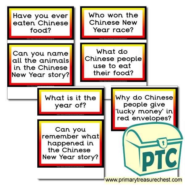 Chinese New Year Themed Display Questions