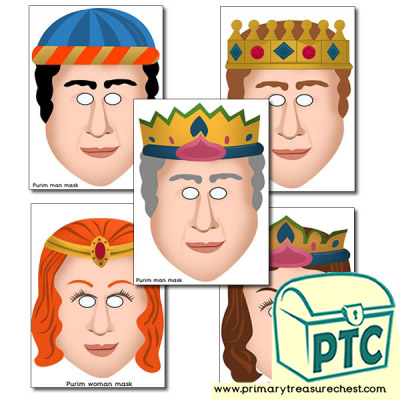 Purim Role Play Masks
