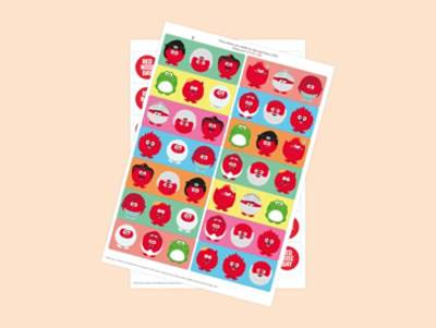 Red Nose Day Stickers