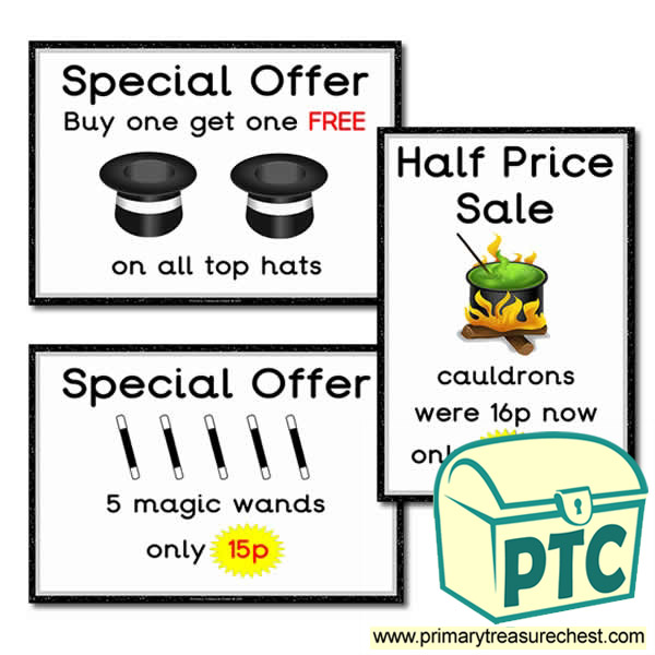 Role Play Magic Shop Special Offers - 1-20p