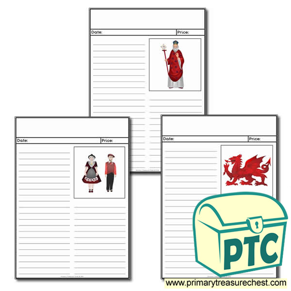 Saint David's Day newspaper Themed Worksheets