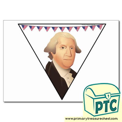 George Washington Themed Bunting