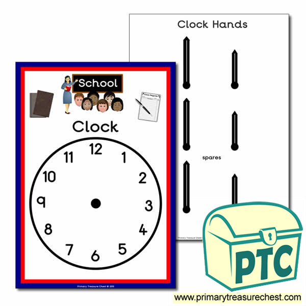 School Role Play Clock