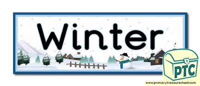 'Winter' Display Heading / Classroom Banner