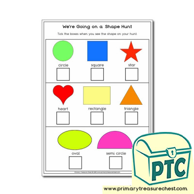 Shape Hunt Activity