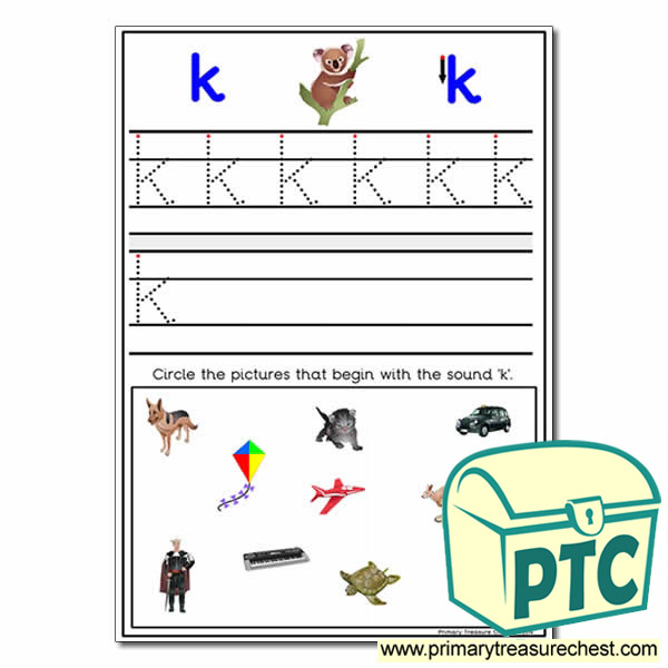 Find the Letter 'k' Pictures
