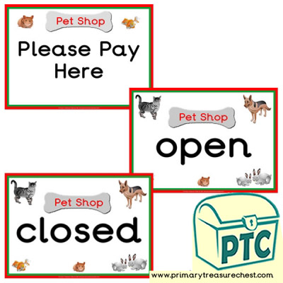 Pet Shop Role Play Clock