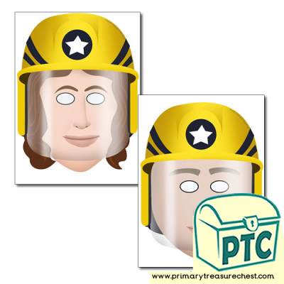 Firefighter Role Play Masks
