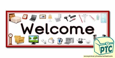 'Welcome' Display Heading/ Classroom Banner