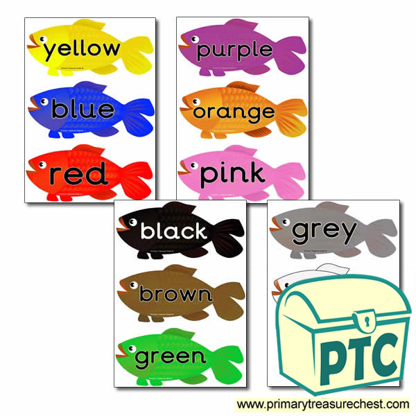 High Frenquency Colour Words