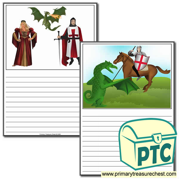 Saint George's Day Worksheets