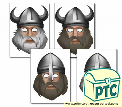 Viking Role Play Masks